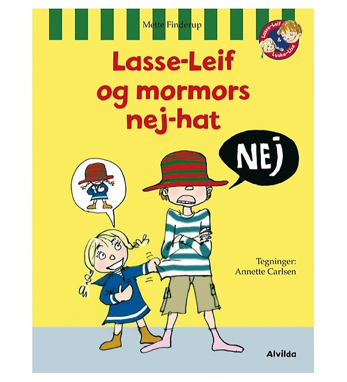 Image of Alvilda Bog - Lasse-Leif & Mormors Nej-Hat (MP344)