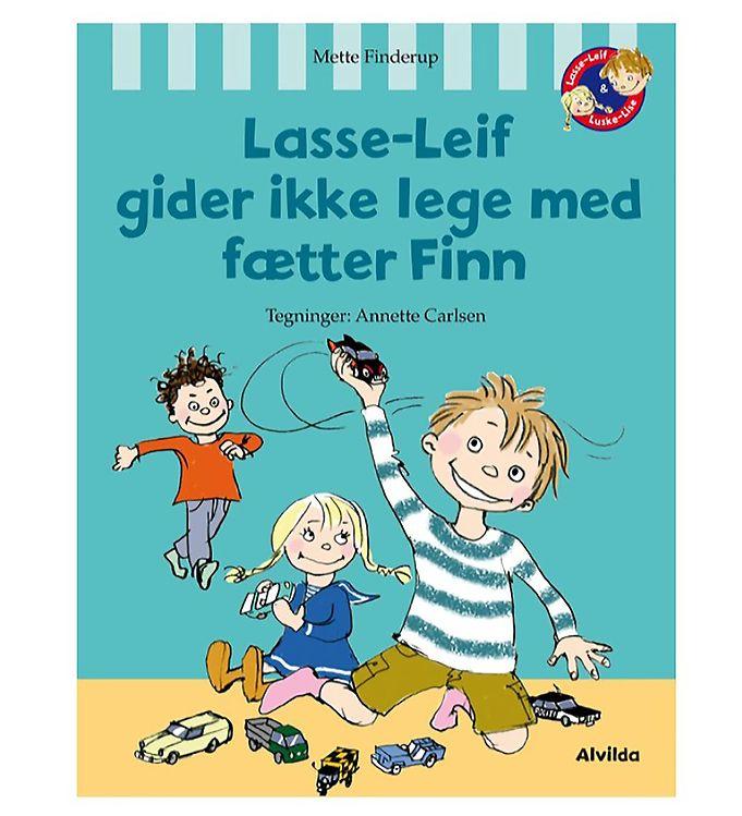 Image of Alvilda Bog - Lasse-Leif Gider ikke Lege Med Fætter Finn (MP347)