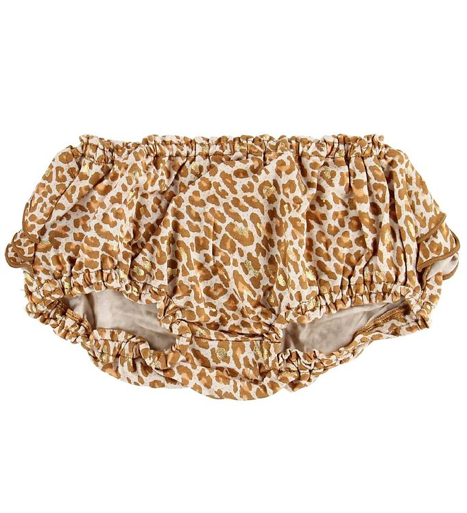 Image of MarMar Bloomers - Poppy - Gold Leopard (MP417)