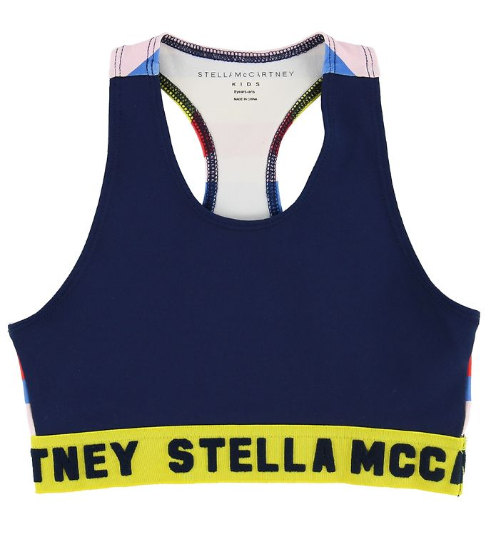 Image of Stella McCartney Kids Træningstop - Navy m. Striber (MP492)