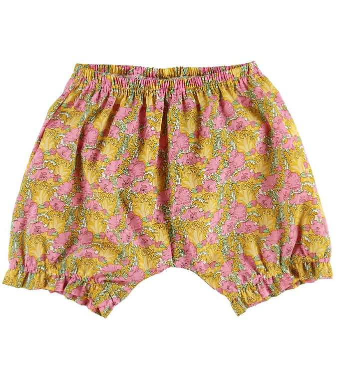 Image of Huttelihut Shorts - Clementina Tana Lawn (MP828)