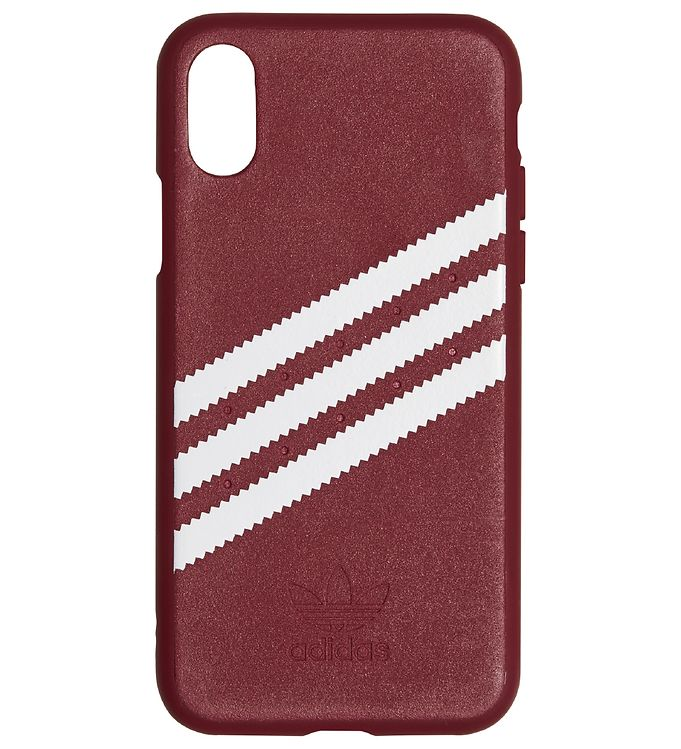 Image of   adidas Originals Cover - 3-Stripes - iPhone X/XS - Burgundy