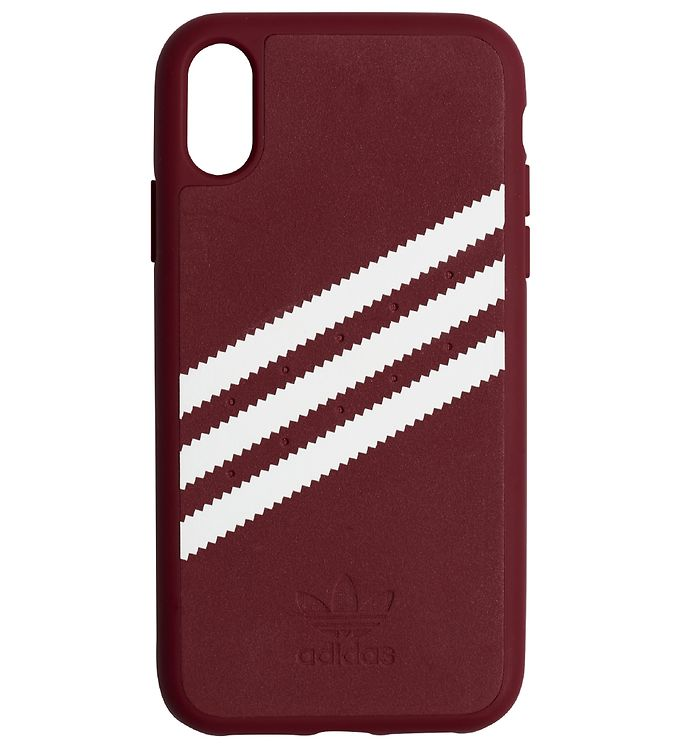 Image of adidas Originals Cover - 3-Stripes - iPhone XR - Burgundy