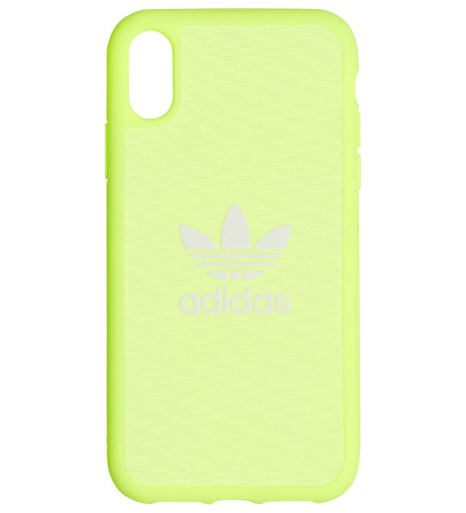 Image of   adidas Originals Cover - Trefoil - iPhone XR - Hi-Res Yellow