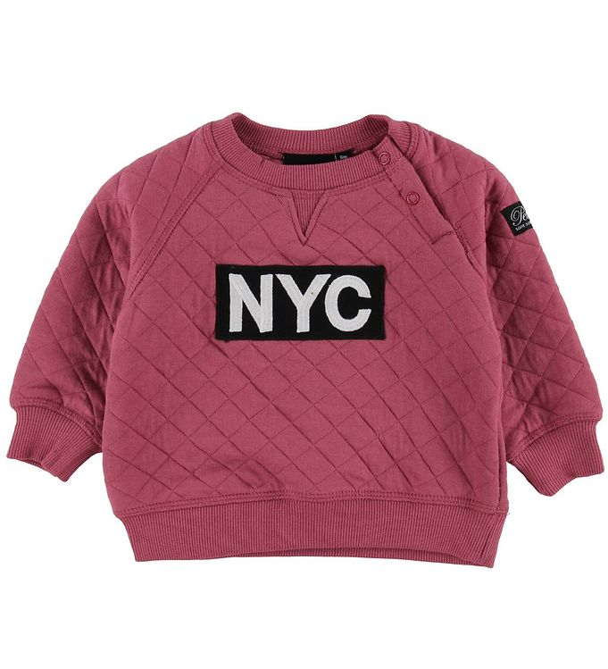 Image of Petit by Sofie Schnoor Bluse - Cherry Red m. NYC (MQ444)