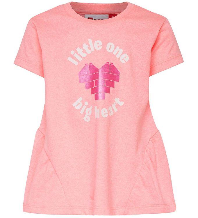 Image of Lego Duplo T-shirt - Thelma - Pinkmeleret m. Print (MQ865)