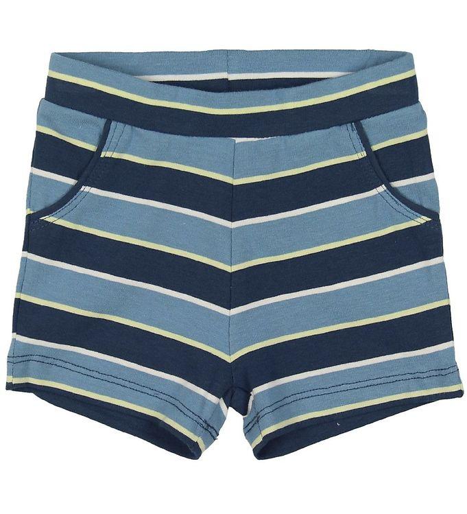 Image of Minymo Shorts - Blå Stribet (MQ958)