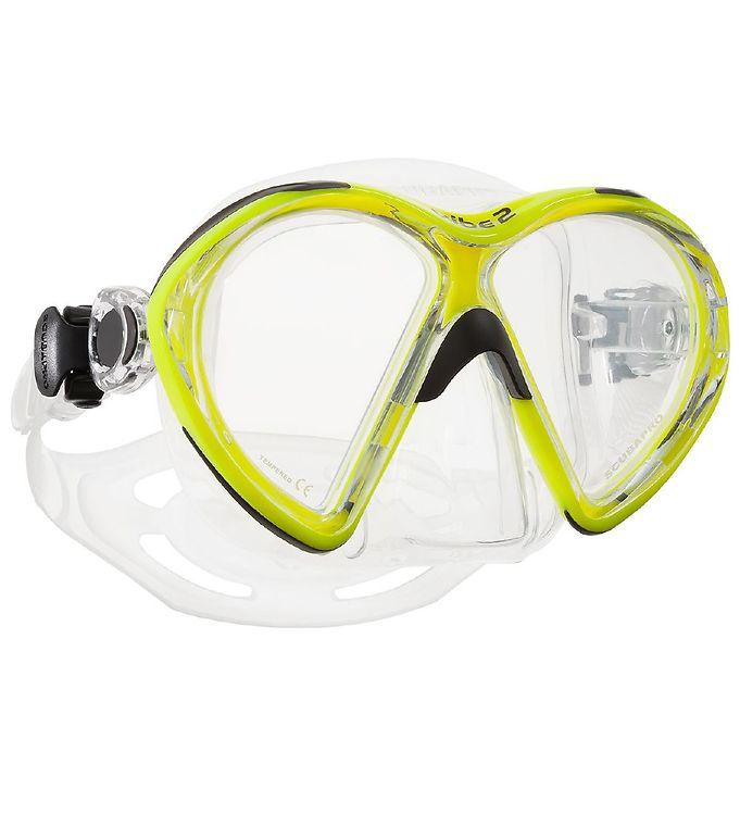 Image of Scubapro Dykkermaske - Vibe 2 - Neongul (MR418)