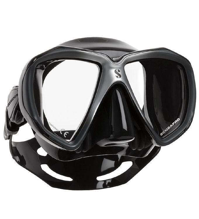 ad4c64b3af5 Scubapro Dykkermaske - Spectra - Sort/Sølv