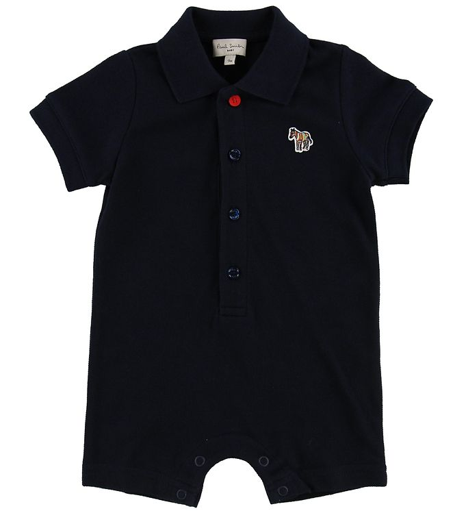 Image of Paul Smith Baby Sommerdragt - Truth - Navy m. Krave (MR528)