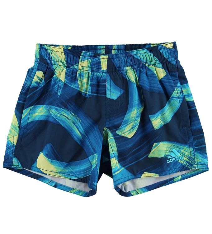 Image of adidas Performance Badeshorts - Navy m. Print