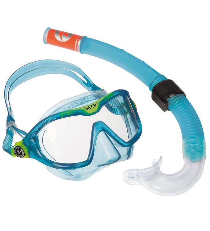 Image of Aqua Lung Snorkelsæt - Mix - Petroleum (MR951)
