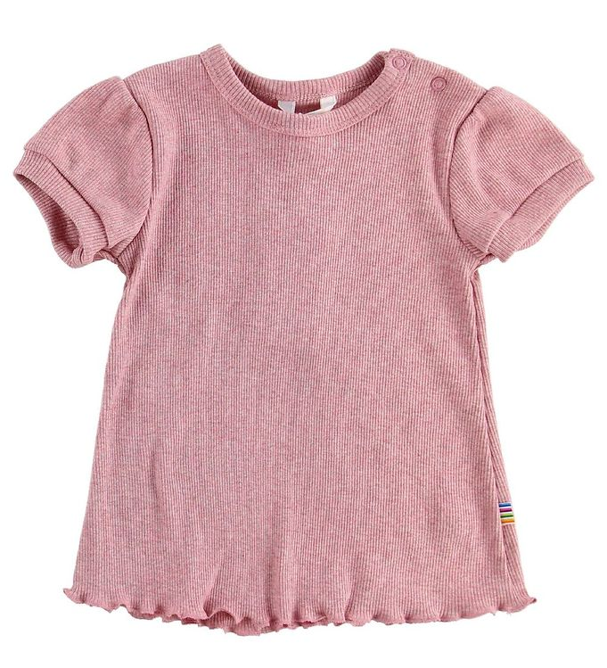 Image of Joha T-shirt - Rib - Rosameleret (MS148)