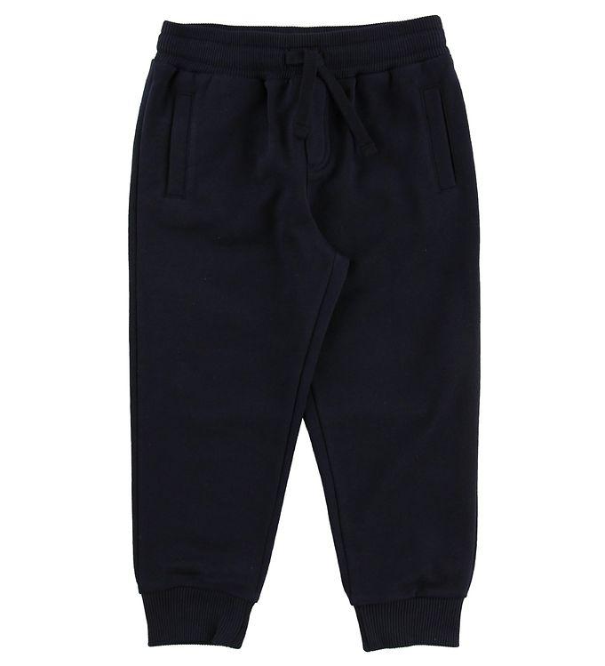 Image of Dolce & Gabbana Sweatpants - Navy (MS166)