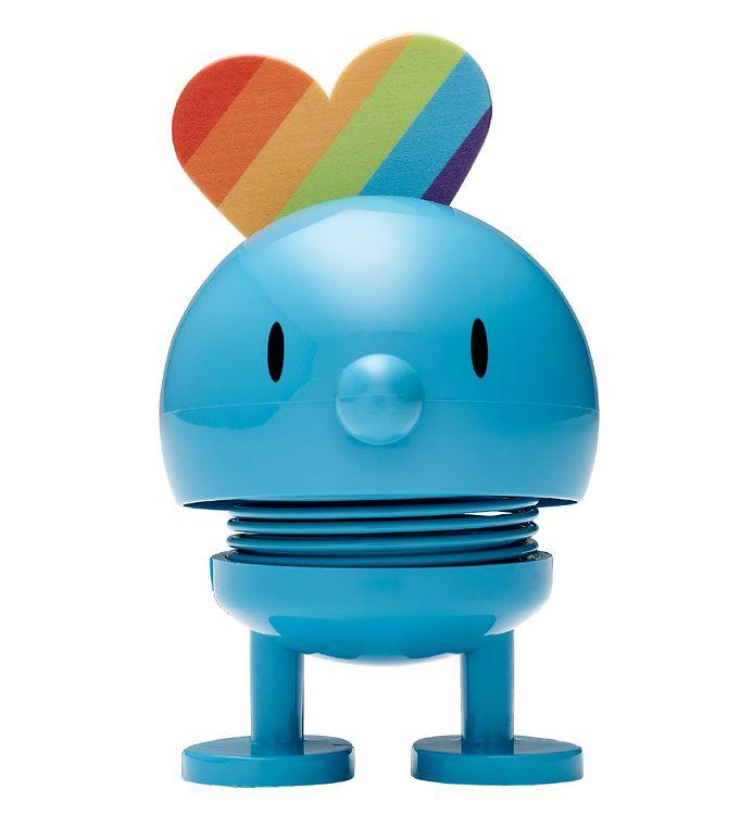 Image of Hoptimist Baby Bumble - Rainbow - 7 cm - Turkis (MS657)
