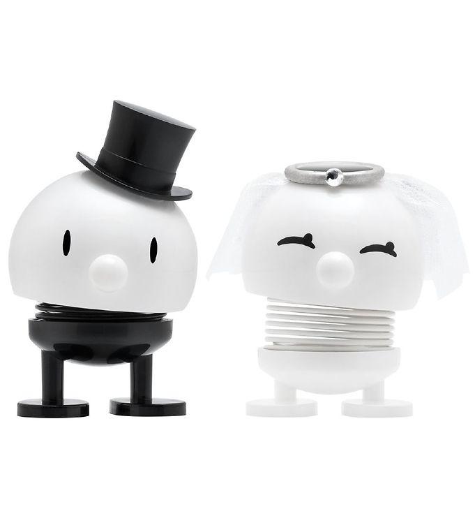 Image of   Hoptimist Baby Bimble & Bumble - 2-pak - Bride & Groom - 7 cm -