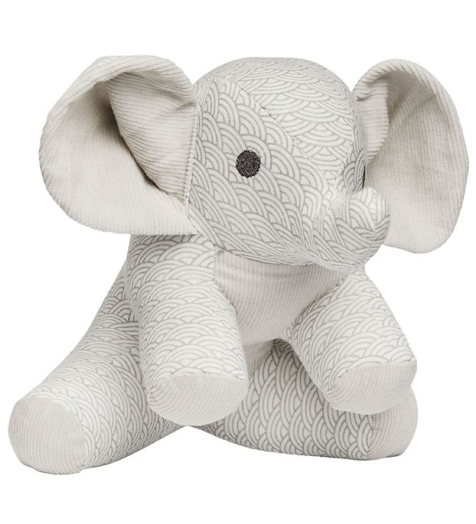 Image of Cam Cam Bamse - Elefant - 22 cm - Grey Wave (MS969)