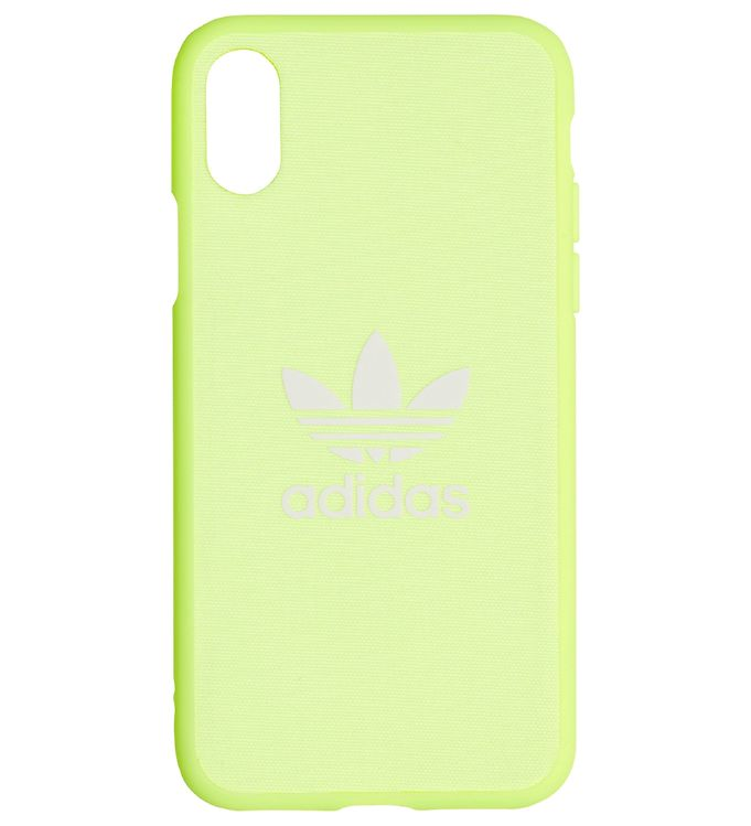 Image of   adidas Originals Cover - Trefoil - IPhone X/XS - Hi-Res Yellow