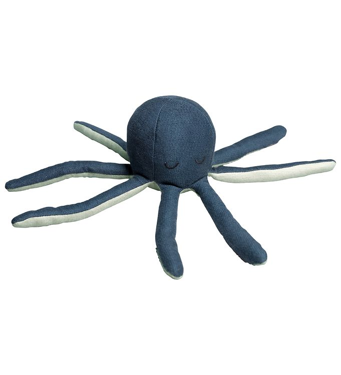 Image of Fabelab Bamse - Octopus - 25 cm - Blue Spruce (MT514)