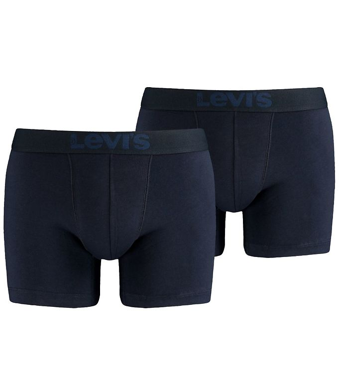 Image of Levis Boxershorts - 2-pak - Boxer Brief - Navy (MT675)