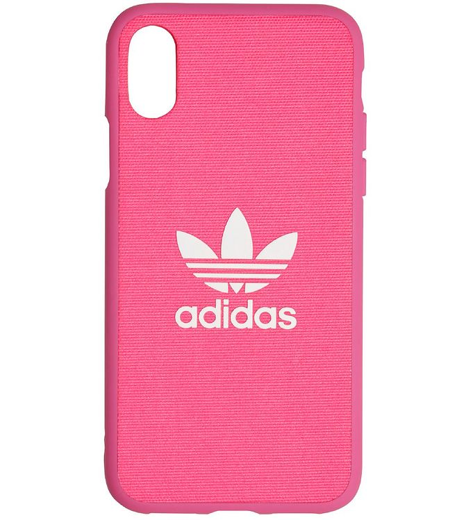 Image of adidas Originals Cover - Trefoil - iPhone X/XS - Shock Pink