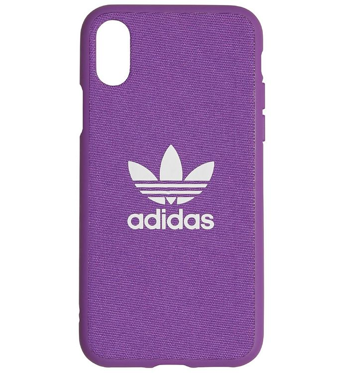 Image of   adidas Originals Cover - Trefoil - iPhone X/XS - Active Purple