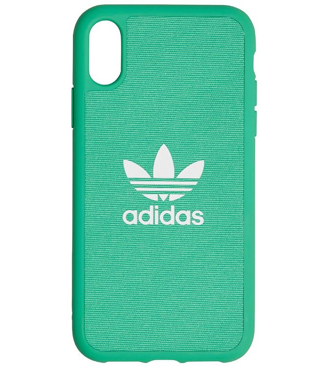 Image of adidas Originals Cover - Trefoil - iPhone XR - Hi-Res Green (MU100)