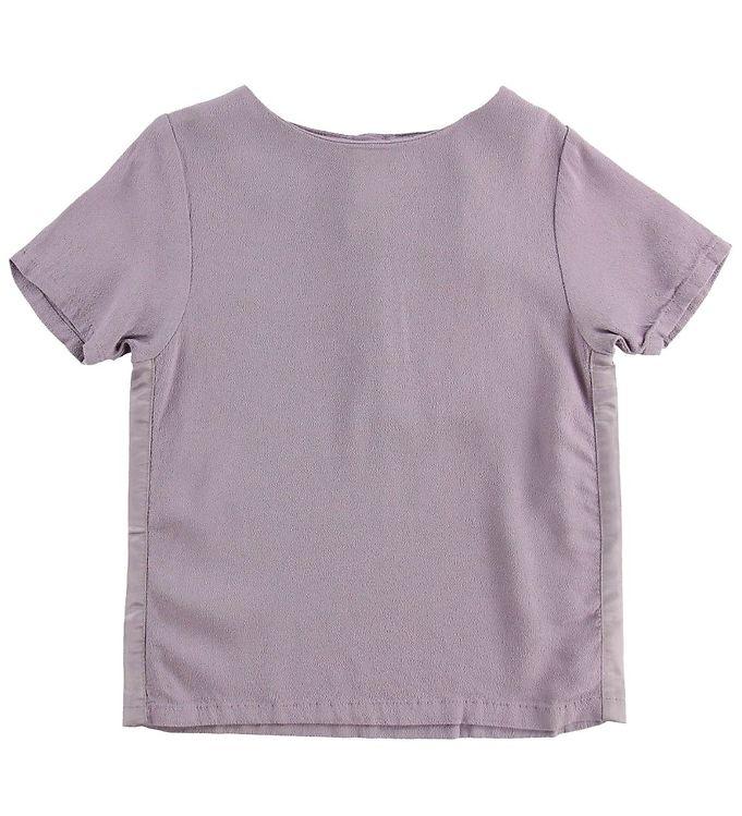 Wheat T-shirt - Leonora - Soft Lavender - 05 - Wheat,AA - Wheat,Pigetøj,Wheat SS19,Wheat T-shirt,Wheat Tilbud,Wheat Udsalg - Wheat