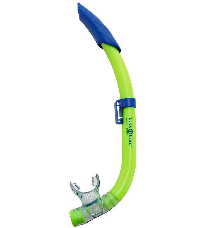 Image of   Aqua Lung Snorkel - Pike Jr - Lime/Blå