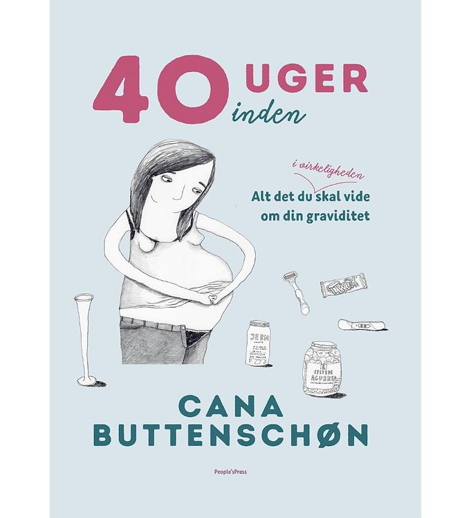Image of Cana Buttenschøns Bog - 40 Uger Inden (MU574)