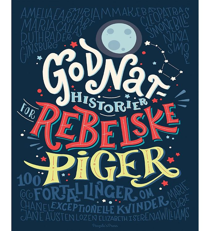 Image of Frencesca Cavalos Bog - Godnathistorier For Rebelske Piger (MU577)