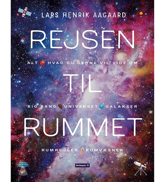 Image of Lars Henrik Aagaards Bog - Rejsen Til Rummet (MU579)