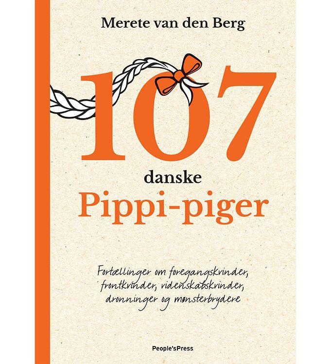 Image of Merete van den Bergs Bog - 107 Danske Pippi-Piger (MU585)