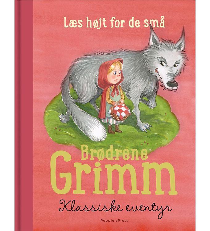 Image of Brødrene Grimm Bog - Klassiske Eventyr (MU587)