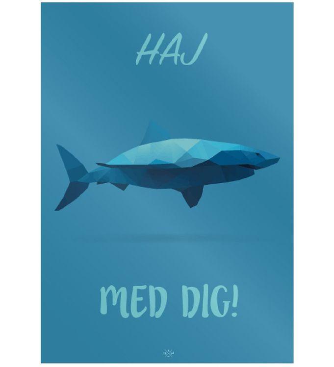 Image of Citatplakat Plakat - 50x70 - Haj Med Dig (MU676)