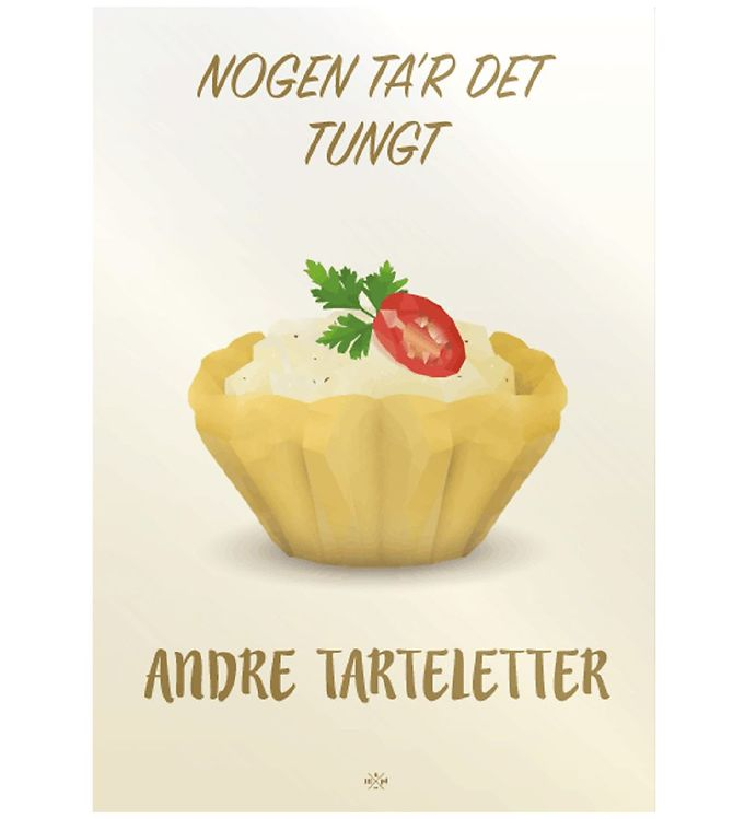 Image of Citatplakat Plakat - 50x70 - Tarteletter (MU678)