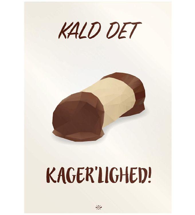 Image of Citatplakat Plakat - 50x70 - Træstamme Kagerlighed (MU681)