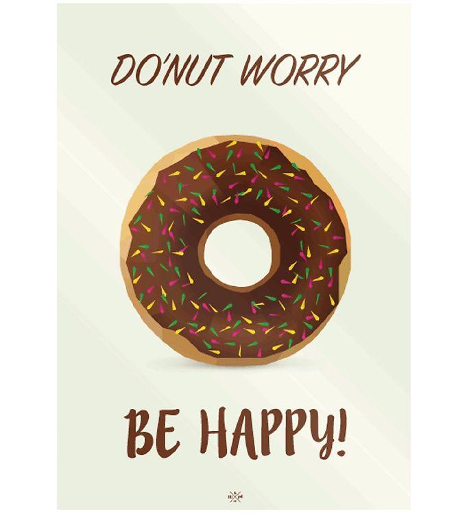 Image of Citatplakat Plakat - 50x70 - Donut (MU682)