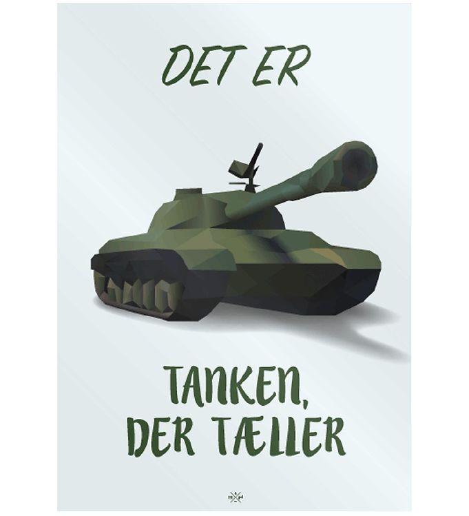 Image of Citatplakat Plakat - 50x70 - Tanken (MU684)