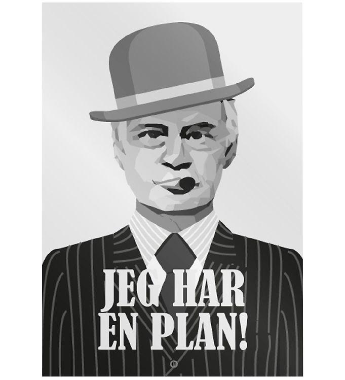 Image of Citatplakat Plakat - A3 - Jeg Har En Plan (MU690)