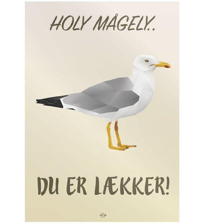 Image of Citatplakat Plakat - A3 - Holy Mågely (MU698)