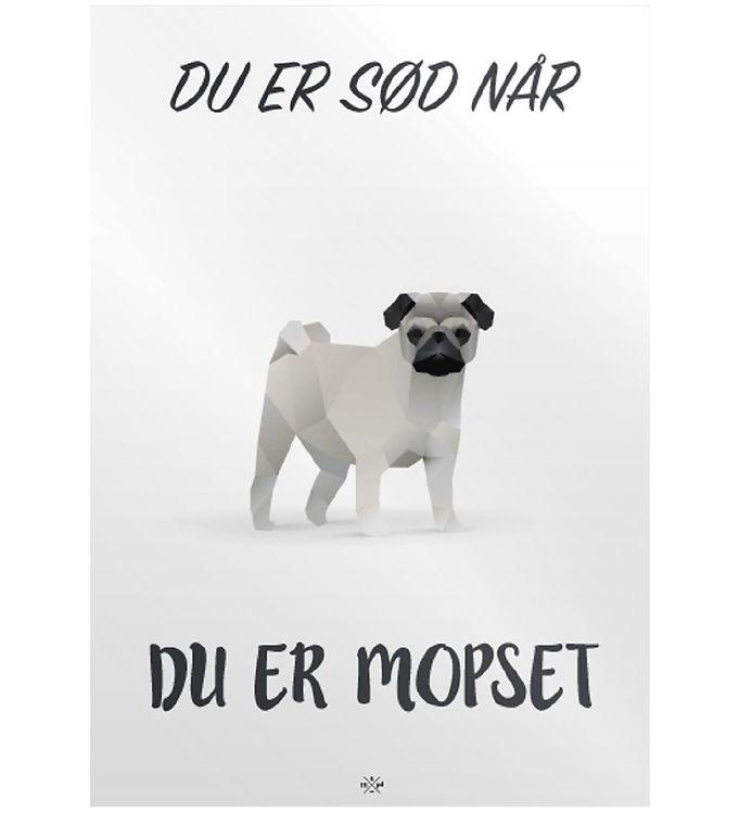 Image of Citatplakat Plakat - A3 - Mopset (MU699)
