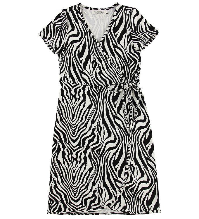 Image of Hound Slå-om Kjole - Zebra (MU889)