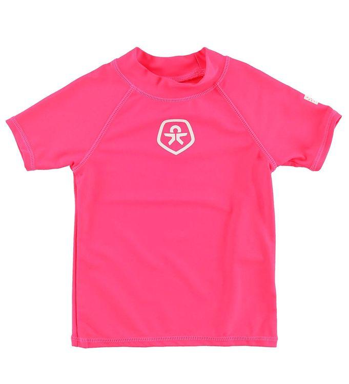 Image of Color Kids Badebluse - Timon - UV50+ - Pink (MU984)