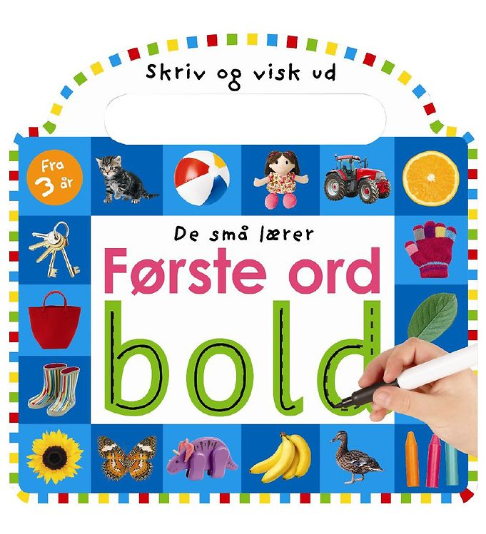 Image of Alvilda Bog - De Små Lærer Første Ord (MU994)