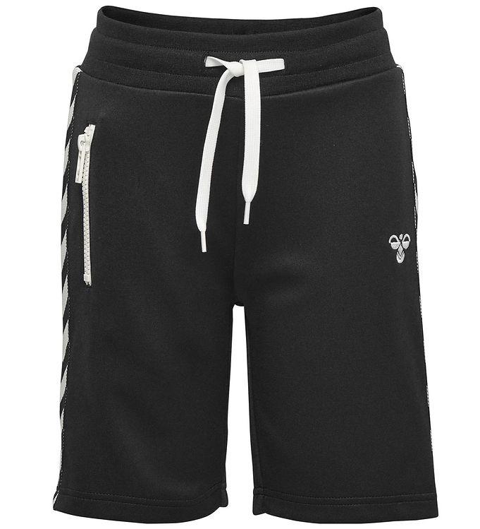 Hummel Shorts - HMLNeymar - Sort m. Vinkler - 09 - Hummel,Drengetøj,Hummel Shorts,Hummel SS19 - Hummel