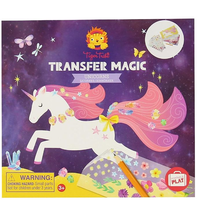 Image of Tiger Tribe Klistermærker - Transfer Magic - Unicorns (MV217)