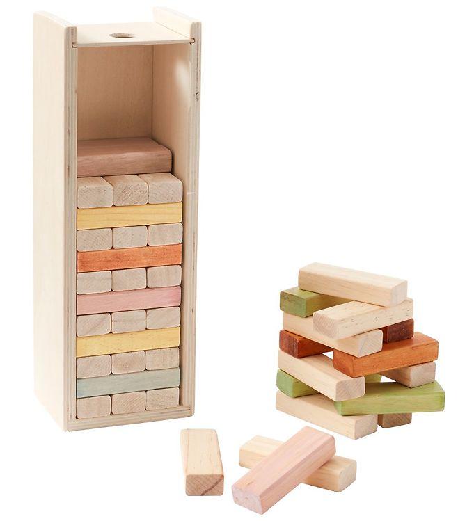 Image of Kids Concept Byggeklodser - Træ/Multifarvet (MV267)