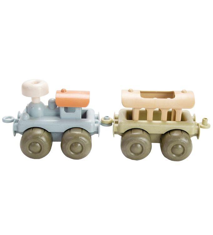 Image of Dantoy BIO Plastic Tog m. Vogn - Pastel (MV365)