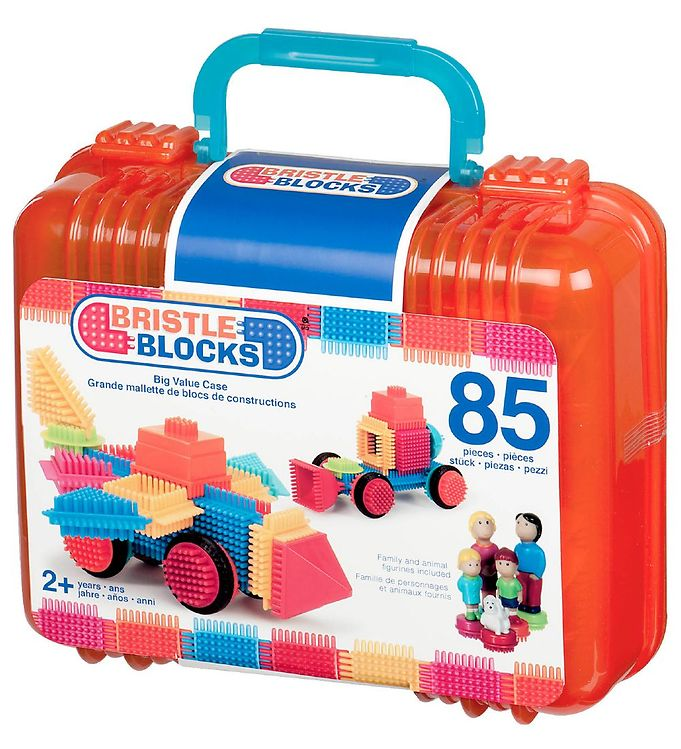 Image of Bristle Blocks Kuffert - 85 stk - Big Value (MV434)